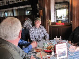 Our table at McLintock's - Click for video
